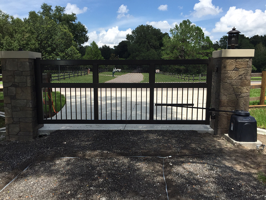 Entry Gates Access Control Systems Better Fence Company